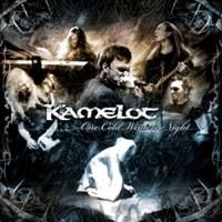 KAMELOT - One Cold Winter's Night CD album cover