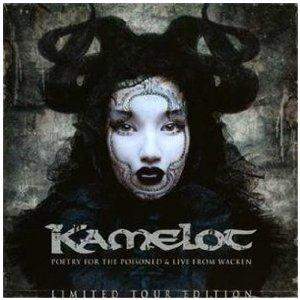 Kamelot - Poetry For The Poisoned & Live From Wacken CD (album) cover