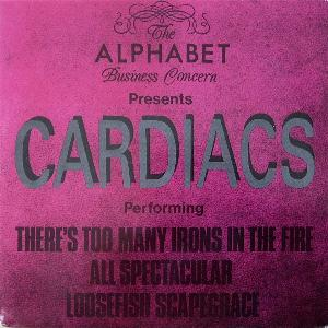 Cardiacs - There's Too Many Irons In The Fire CD (album) cover