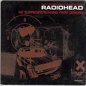 Radiohead - No Surprises / Running From Demons CD (album) cover