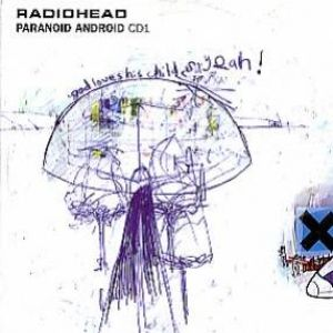 Radiohead - Paranoid Android CD (album) cover
