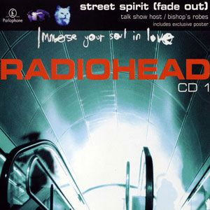 Radiohead - Street Spirit (fade Out) CD (album) cover