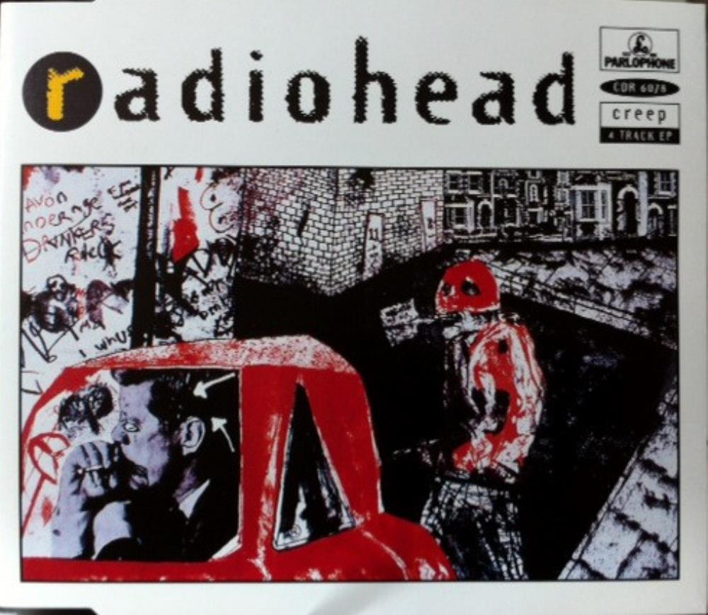 Radiohead - Creep CD (album) cover
