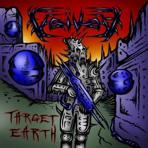 Voivod - Target Earth CD (album) cover