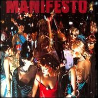 Roxy Music - Manifesto CD (album) cover