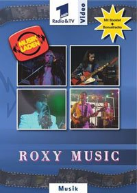 Roxy Music - Musikladen / Beatclub Live 74-75 DVD (album) cover