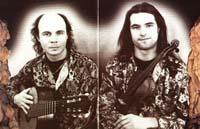 TWO SIBERIANS image groupe band picture
