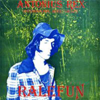 Antonius Rex - Ralefun CD (album) cover