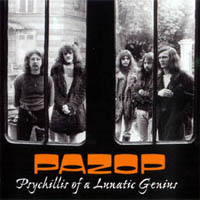 Pazop - Psychillis Of A Lunatic Genius CD (album) cover
