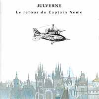 Julverne - Le Retour Du Captain Nemo CD (album) cover