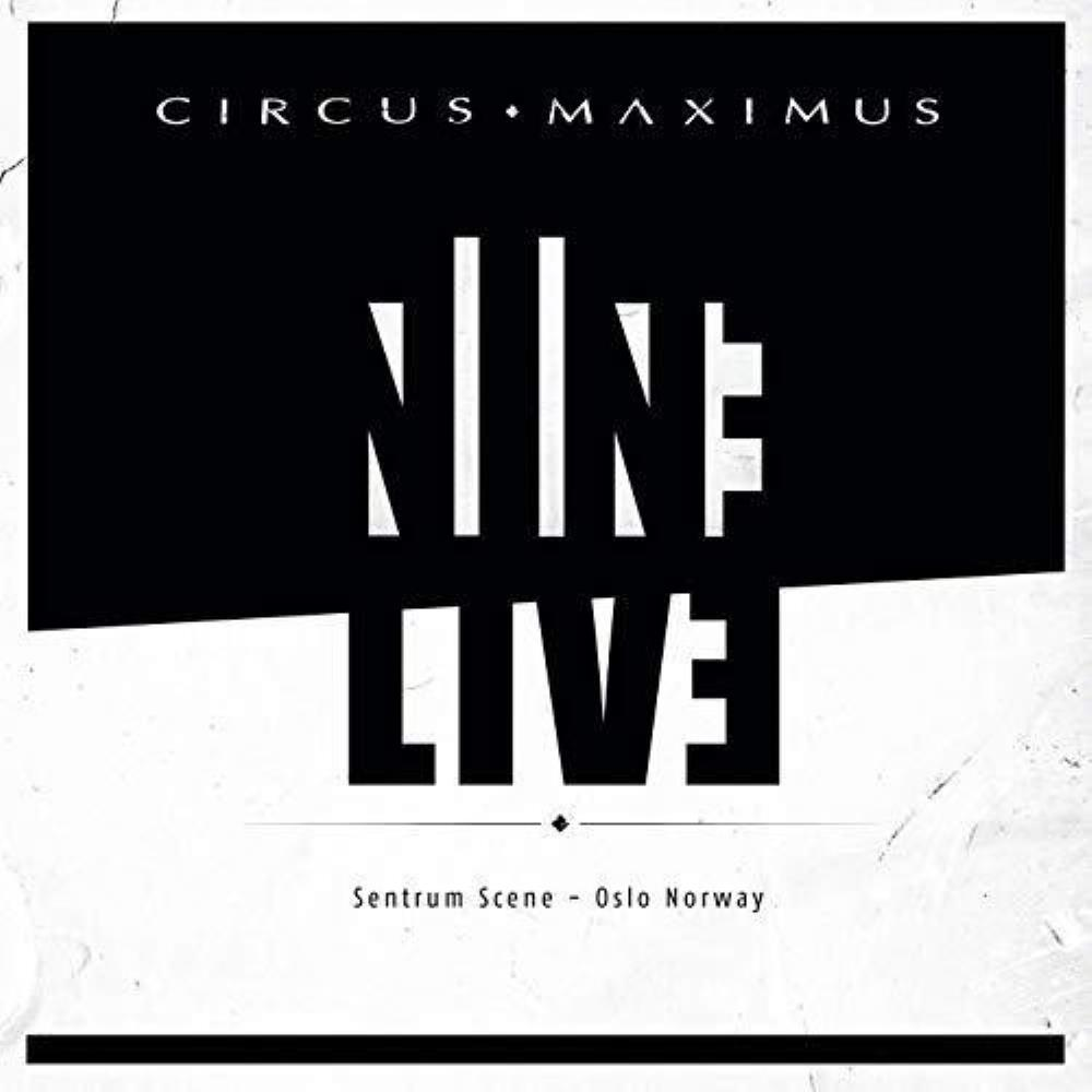 Circus Maximus - Nine Live CD (album) cover