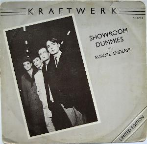 Kraftwerk - Showroom Dummies CD (album) cover