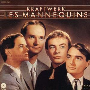 Kraftwerk - Les Mannequins CD (album) cover