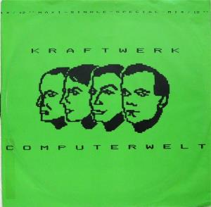 Kraftwerk - Computerwelt CD (album) cover