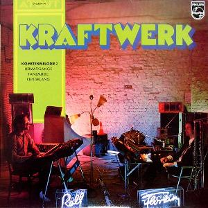 Kraftwerk - Kometenmelodie 2 (compilation) CD (album) cover