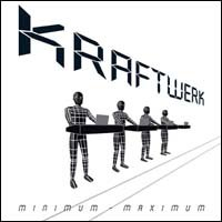 Kraftwerk - Minimum Maximum CD (album) cover