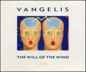 Vangelis - The Will Of The Wind CD (album) cover