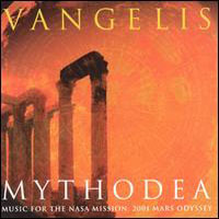 VANGELIS - Mythodea CD album cover