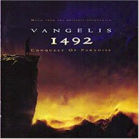 Vangelis - 1492 - Conquest Of Paradise CD (album) cover
