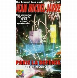 Jean-michel Jarre - Paris La Defense: A City In Concert DVD (album) cover