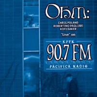 Ohm - 'live' On Kpfk 90.7 Fm CD (album) cover
