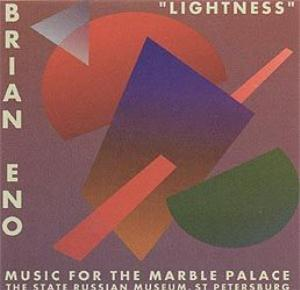 Brian Eno - Lightness CD (album) cover
