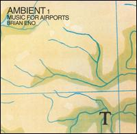 Brian Eno - Ambient 1 - Music For Airports CD (album) cover