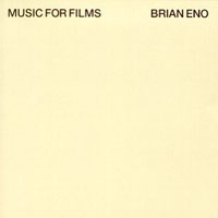 Brian Eno - Music For Films CD (album) cover