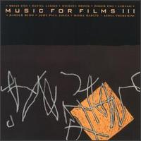 Brian Eno - Music For Films, Vol. 3 CD (album) cover