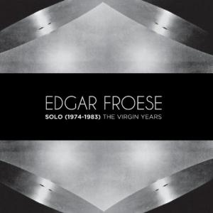 Edgar Froese - Solo (1974 - 1983) The Virgin Years CD (album) cover