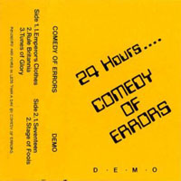 Comedy Of Errors - 24 Hours CD (album) cover