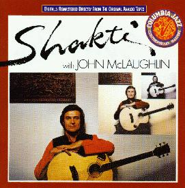Shakti And John Mclaughlin - Shakti With John Mclaughlin CD (album) cover