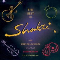Shakti And John Mclaughlin - The Best Of Shatki CD (album) cover