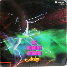 Ache - De Homine Urbano CD (album) cover