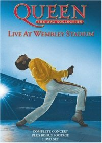 Queen - Live At Wembley Stadium DVD (album) cover