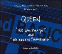 QUEEN - We Will Rock You / We Are The Champions [ep] CD album cover