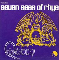 Queen - Seven Seas Of Rhye / See What A Fool I've Been CD (album) cover