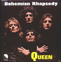 Queen - Bohemian Rhapsody / I'm In Love With My Car CD (album) cover