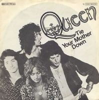 Queen - Tie Your Mother Down / You And I CD (album) cover