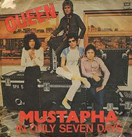Queen - Mustapha / In Only Seven Days CD (album) cover