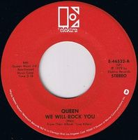 Queen - We Will Rock You [live] / Let Me Entertain You [live] CD (album) cover