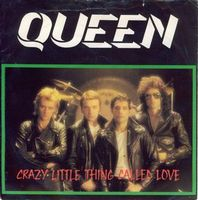 Queen - Crazy Little Thing Called Love / We Will Rock You [live] CD (album) cover