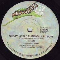 Queen - Crazy Little Thing Called Love / Spread Your Wings CD (album) cover