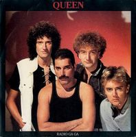 Queen - Radio Ga Ga / I Go Crazy CD (album) cover