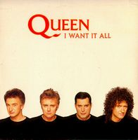 Queen - I Want It All CD (album) cover