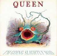 Queen - I'm Going Slightly Mad CD (album) cover