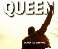 QUEEN - Heaven For Everyone CD album cover