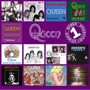 Queen - The Singles Collection Volume 1 CD (album) cover