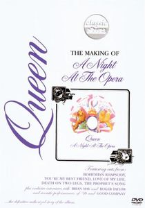 Queen - Classic Albums: A Night At The Opera DVD (album) cover