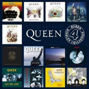 Queen - The Singles Collection Volume 4 CD (album) cover
